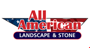 Product image for All American Landscape & Stone $500 Off Any Purchase Of $5000 Or More. $1,000 Off Any Purchase Of $15,000 Or More. .