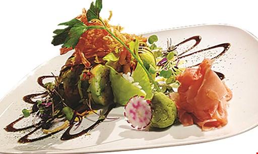 Product image for Stix & Sushi 50% off regular sushi rolls