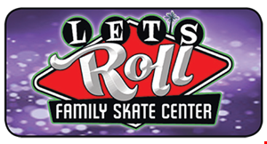 Product image for Let's Roll Family Skate Center $22 For A Family Skating Package For Up To 4 People (Reg. $44)