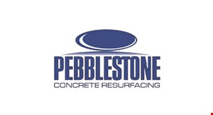 Product image for Pebblestone Concrete Resurfacing 5% off. Visit us at the floor store.