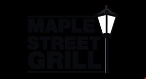 Maple Street Grill logo