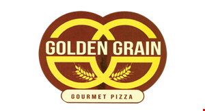 Golden Grain Gourmet Pizza logo