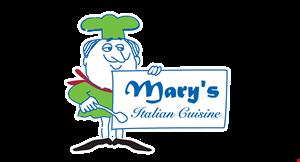 Marys Restaurant logo