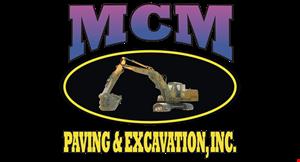 MCM Paving logo