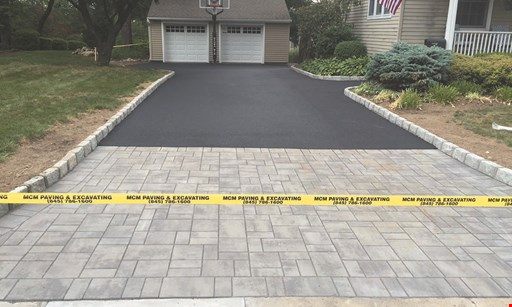 Product image for MCM Paving $500 off Any Job Of $5,000 Or More.