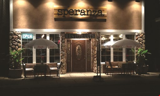 Product image for Speranza 50% off entree
