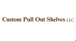 Custom Pull Out Shelves logo