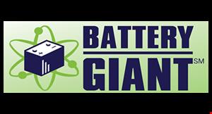 Battery Giant logo