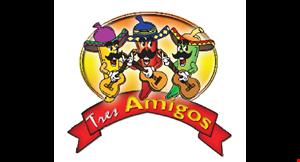 Tres Amigos Ringgold logo