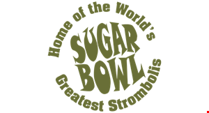 Product image for Sugar Bowl $2 OFF any large pizza.