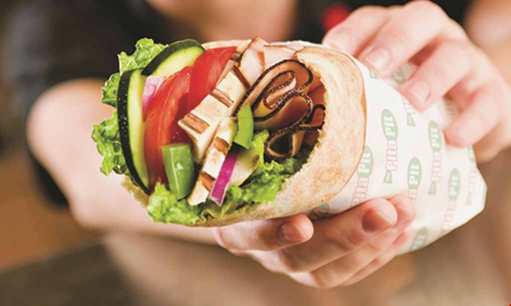 Product image for Pita Pit $5 Off any purchase of $20 or more (before tax).
