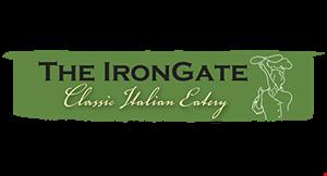 Iron Gate Pizzeria logo