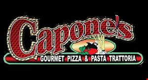 Capone's Gourmet Pizza & Pasta Trattoria logo