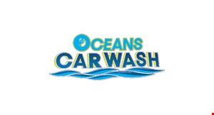 Oceans Car Wash logo