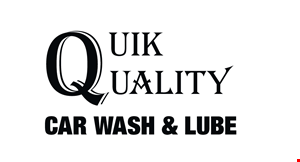 Quik Quality Car Wash & Lube logo