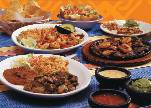 Product image for Pancho's- South Maryville 1/2 off Lunch or dinner
