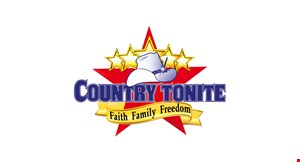 Product image for Country Tonite $8 Off the purchase of two adult general admission performances