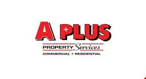 A PLUS PROPERTY SERVICES logo