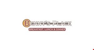 Benny's Place logo