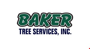 Product image for Baker Tree Services, Inc. 10% off tree service