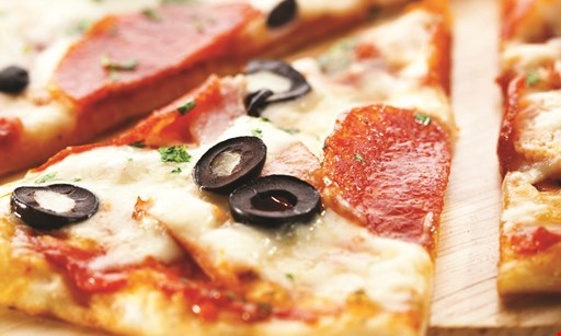 Product image for Dominion Pizza 10% Off your total order excludes alcohol.