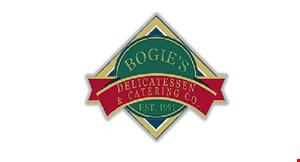Product image for Bogie's Deli $10 For $20 Worth Of Sandwiches & More (Also Valid On Take-Out & Delivery W/Min. Purchase $30)