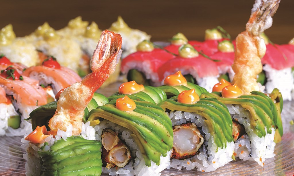 Product image for Dragon Hibachi & Sushi Buffet 10%OFF lunch OR DINNER check