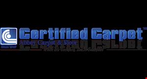 Certified Carpet Inc./Cleaning logo