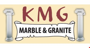KMG Marble & Granite logo