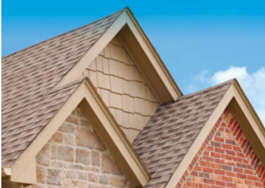 """Product image for Patriot Roofing Services, Inc. $50 OFF Any New Seamless 6"""" gutter installation."""