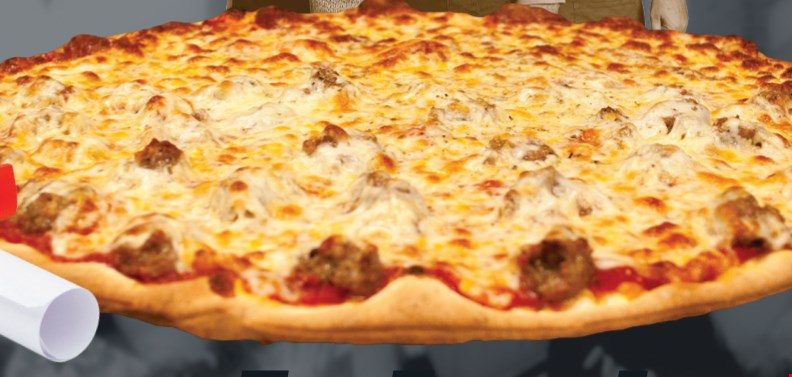 """Product image for ROSATI'S OF LOCKPORT $19.99 16"""" Thin Crust Cheese Pizza & Cheesy Bread Stix"""