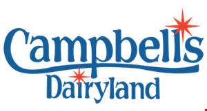 Product image for Campbell's Dairyland Buy one, get one free fish filet sandwich