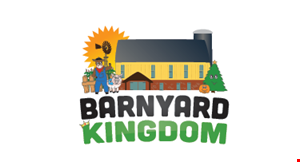 Product image for Barnyard Kingdom $1 OFF Barnyard Kingdom admission valid for up to 4 guests.