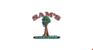 Product image for Sam's Tree Service $150 off any job