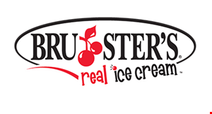 Product image for Bruster's Real Ice Cream $1 off a waffle cone