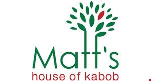 Matt's House of Kabob logo