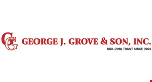 GEORGE J. GROVE & SON, INC. logo