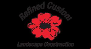 Refined Custom Landscape Construction LLC logo