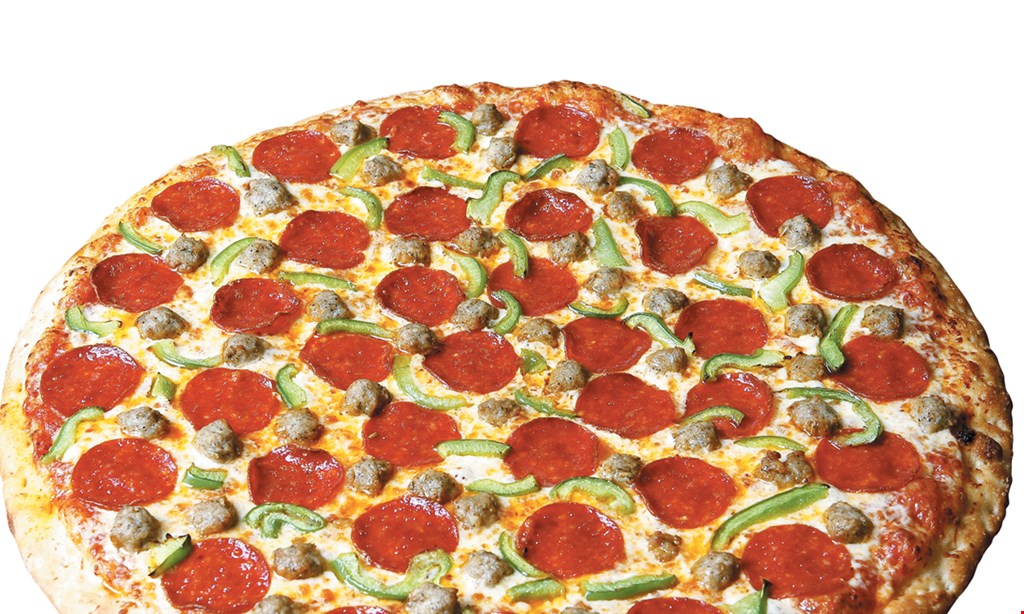 "Product image for HOUSE OF PIZZA $28.99 plus tax family pack 1 large 16"" cheese pizza, 2 large subs & a 2-liter bottle of soda toppings extra."