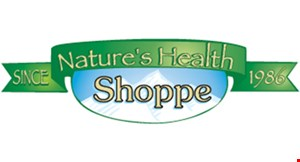 Product image for NATURE'S HEALTH SHOPPE 10% off total purchase.