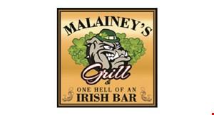 Malainey's Grill logo