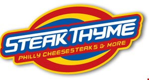 Steak Thyme Philly Cheesesteaks & More logo