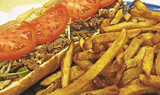 Product image for Steak Thyme Philly Cheesesteaks & More $19.99 any 4 regular Phillys and 1 large fry.