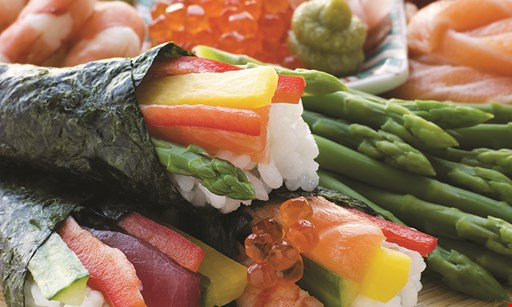 Product image for Hokkai Sushi $3 off lunch 2 people. $5 off dinner 2 people.