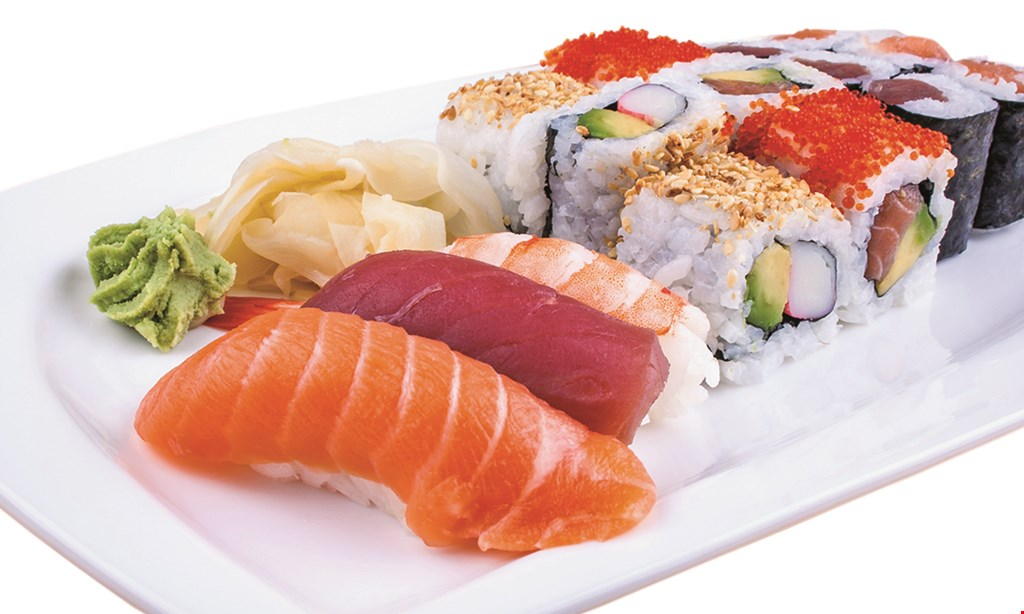 Product image for Hokkai Sushi 15% off any carry out order.