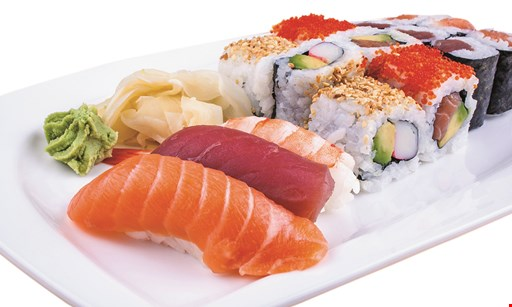 Product image for Hokkai Sushi $3 OFF Lunch 2 people OR $5 OFF Dinner 2 people