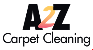 A 2 Z Carpet Cleaning logo