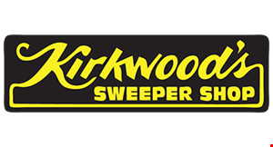 Product image for Kirkwood's Sweeper Shop Inc. $10 OFF Vacuum Repair