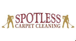 Spotless Carpet Cleaning logo