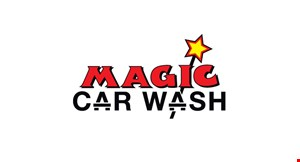 """Product image for Magic Car Wash free UPGRADE Buy any wash & get a free upgrade to the next level wash (excludes """"the works"""")."""
